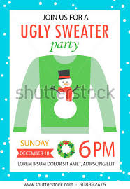 ugly sweater party stock images royalty free images u0026 vectors