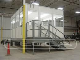 bureau d atelier cloison aluminium amovible cabine sur elevée cabine et bureau d