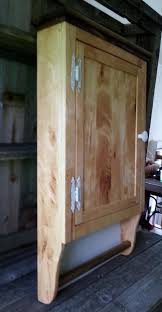 Wooden Bathroom Wall Cabinets Pallet Bathroom Wall Cabinet With Towel Rack Pallet Furniture Diy
