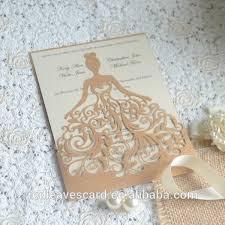 3d wedding invitations china supplier modern design 3d printing wedding invitation card