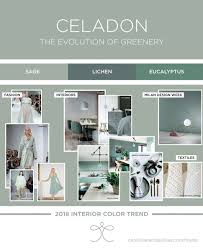 bedroom color trends bedroom interior color trends 2018 ss18 aw18 greenery green sage