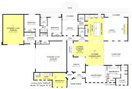 House Plans With Media Room Contemporary Side Courtyard House Plan Contemporary House Plans