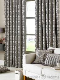curtains for livingroom classic grey linen and poly blended materials living room curtains