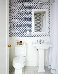wallpaper for bathrooms ideas water resistant wallpaper bathroom a townhouse by gibbons
