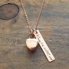 Personalized Charm Necklaces Gold Initial Necklace Gold Heart Initial Hand Stamped