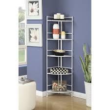 Iron Folding Bookcase Zipcode Design Georgette 5 Tier Folding Metal Shelf 58