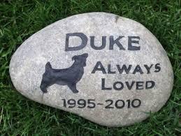 memorial stones for dogs 265 besten pet memorial stones pet memorial grave marker