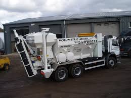 volumetric concrete mixers can supply all mixes and grades of