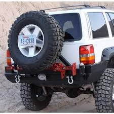 1998 jeep grand bumper rock 4x4 8482 patriot series rear bumper with tire carrier