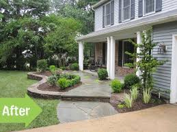 Front Porch Landscaping Ideas Small House Landscaping Ideas Front Yard