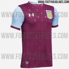 new 17 18 aston villa kit leaks online 7500 to holte