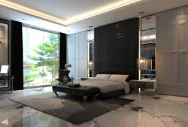 Modern Idea For A Bedroom Interior With A Marble Flooring Marble Marble Floors In Bedroom
