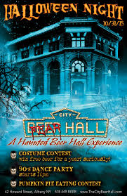 halloween city troy ny our events the city beer hall