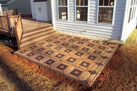 Backyard Floor Ideas Cheap Outdoor Flooring Excellent Decoration Cheap Patio Floor