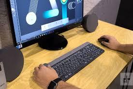 Logitech Laptop Desk Logitech Craft Review Digital Trends