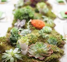 Moss Rug 20 Diy Wedding Centerpieces For Your Upcoming Nuptials Brit Co