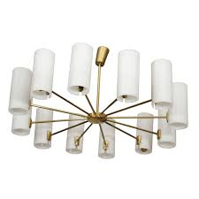 Italian Ceiling Lights Italian Multi Arm Ceiling Light At 1stdibs