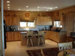 Modern L Shaped Kitchen With Island by Kitchen Islands Recessed Lighting In Kitchen Design L Shape