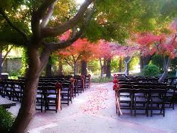 outdoor wedding venues bay area saratoga wedding venue saratoga foothill club