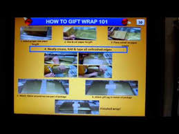 Amazon Com Gift Wrap - amazon gift wrapping 501c3 instructional video youtube