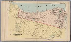 Map Staten Island Section L Port Richmond Town Of Northfield Staten Island New