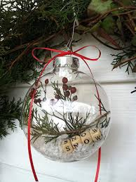 clear christmas ornaments 20 elegantly adorable ways to fill clear ornaments the happy housie