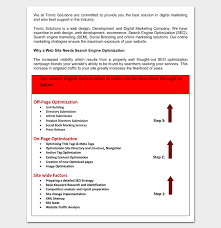 marketing proposal template 6 for word u0026 pdf