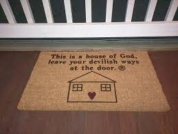 Doormat Leave Christian Doormats Doormat Door Mat Entrance Mat