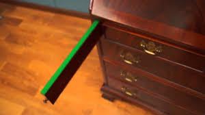Maddox Tables Secretary Desk by 353 Gov Winthrop Secretary Desk Youtube