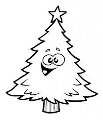 happy christmas tree clipart clipartxtras