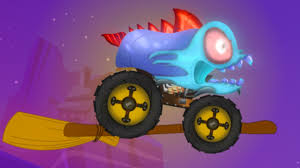 videos monster trucks witch monster truck halloween videos youtube