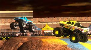 monster truck video game monster truck destruction merge games