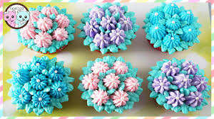 Easy Icing Flowers - russian piping tips flower cupcakes flower cake sugarcoder