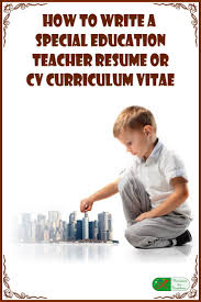 Special Education Teacher Resume The 25 Best Special Education Teacher Jobs Ideas On Pinterest