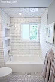 bathroom cool short bathtub shower combo 48 interior tall white