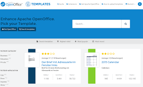 resume templates for openoffice apache openoffice