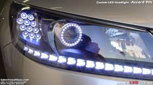 2002 honda accord headlight bulb exledusa custom led headlight honda accord 9th
