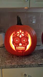 clever pumpkin calavera pumpkin clever pumpkin ideas and holidays