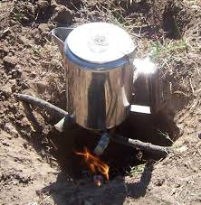 Dakota Firepit Stealth Survival Bushcraft Central Style The Dakota Pit
