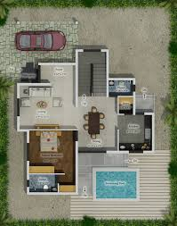villa plans homedale villa elevation plan icipl