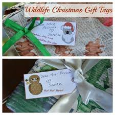free wildlife christmas gift tags candy canes christmas gifts