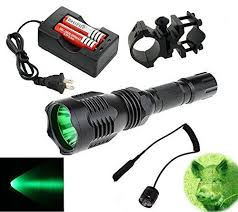 green light for hog hunting bestfire portable hs 802 350 lumens cree led tactical flashlight