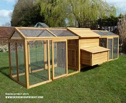 Chicken Coop Kit Hen House With Large Run