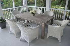 outdoor dining table plans amazing dining room custom diy solid wood outdoor farmhouse table