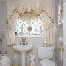 Curtains Bathroom Modern Bathroom Window Curtains Ideas