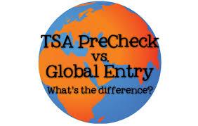 tsa precheck vs global entry brownell travel
