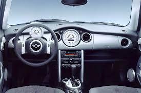 Mini Cooper Interior 2002 06 Mini Cooper Consumer Guide Auto