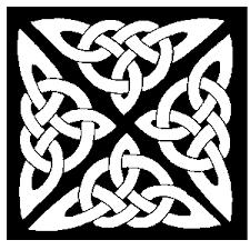black and white celtic designs
