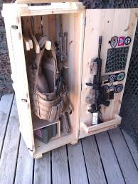 How To Make A Gun Cabinet by Best 25 Weapon Storage Ideas Only On Pinterest In Wall Gun Safe