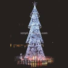 outdoor tree with lights outdoors in the mountains